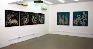 "Installation shot ""Hairvolution"""